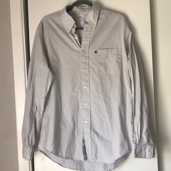 Brooks Brothers Other - Brooks Brothers button down shirt light gray